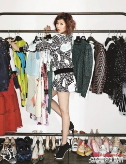 4Minute (Hyun Ah) для Cosmopolitan Magazine March 2014