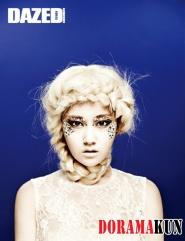 GaYoon (4minute) для Dazed & Confused 2012
