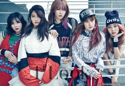 4Minute для First Look Magazine Vol.65