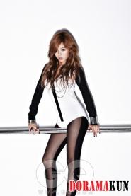 Hyuna (4Minute) для GQ September 2011