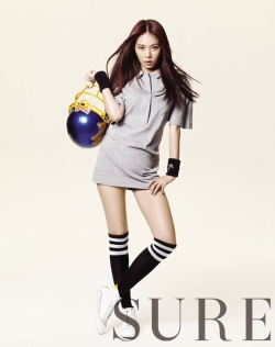 HyunA для Sure May 2012