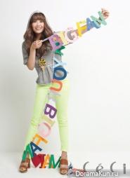 A Pink's Jung Eunji для CeCi September 2012