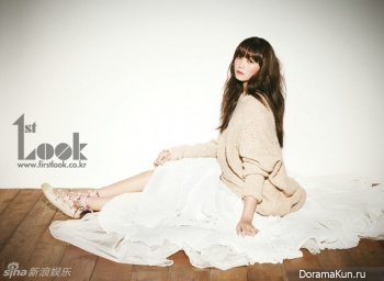 A Pink's Jung Eunji для First Look 2012