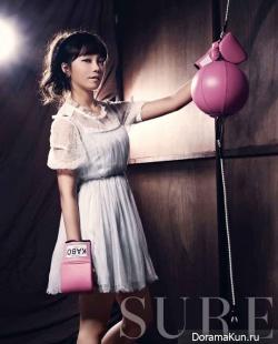 A Pink's Jung Eunji и др. для Sure September 2012