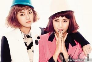 Hyejeong, Seolhyun (AOA) для CeCi February 2013