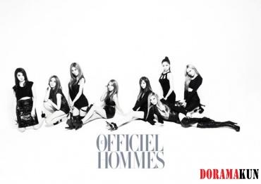 After School для L'Officiel Hommes Korea August 2012