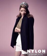 Kaeun (After School) для Nylon Korea August 2013