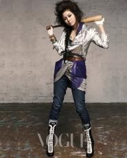 After School's UEE для Vogue Korea March 2010