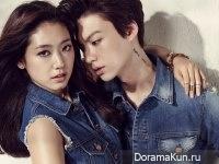 Park Shin Hye, Ahn Jae Hyun для Nylon March 2014