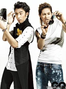 B1A4 для GQ Korea August 2013