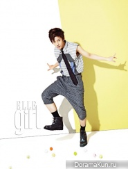 B.A.P для Elle Girl Korea September 2012