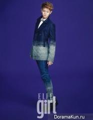 Yoseob (BEAST) для Elle Girl January 2013