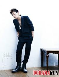 BEAST для Elle Girl Korea August 2012