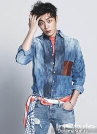 BEAST (Doo Joon) для InStyle April 2014