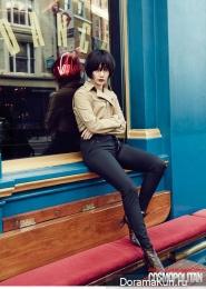 Bae Doo Na для Cosmopolitan Korea September 2014