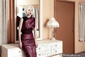 Bae Doo Na для Vogue December 2012
