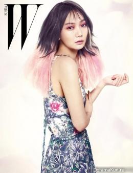 Bae Doo Na для W Korea March 2013