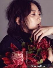 Bae Doo Na для W Korea November 2012