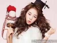Baek Ah Yeon для Nailholic Magazine 2013
