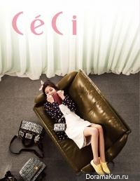 Baek Jin Hee для CéCi 2012