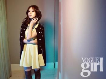 Baek Jin Hee для Vogue Girl Korea February 2012