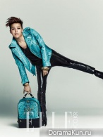 Big Bang (G-Dragon) для Elle February 2014 Extra