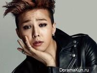 Big Bang (G-Dragon) для Elle February 2014