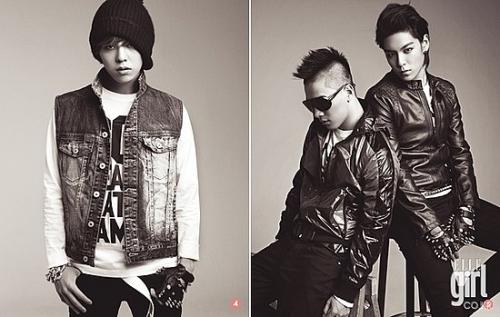 Big Bang для Elle Girl Korea October 2009