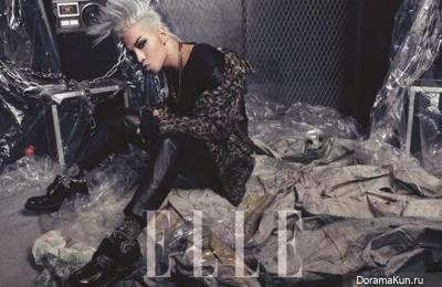 Big Bang (Taeyang) для Elle Korea November 2013