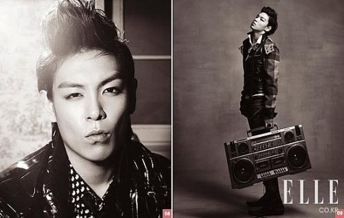 Big Bang's T.O.P для Elle Korea