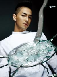Big Bang's Taeyang для GQ Korea August 2010