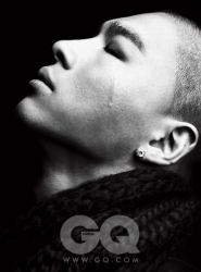 Big Bang's Taeyang для GQ Korea January 2010