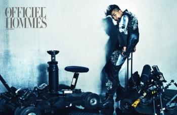 Big Bangs Taeyang для LOfficiel Hommes Korea June 2012
