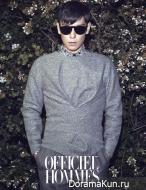 Big Bang (T.O.P) для L'Officiel Hommes November 2013 Extra