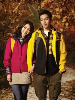 Big Bang's T.O.P, Lee Yeon Hee для North Face