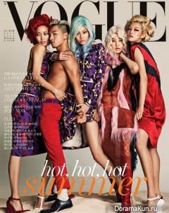 Big Bang (Taeyang) для Vogue Magazine July 2014