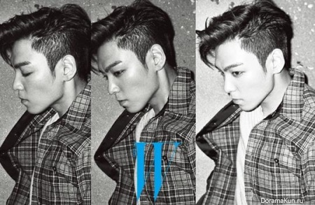 Big Bang (T.O.P) для W Korea November 2013