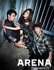 Block B для Arena Homme Plus October 2013