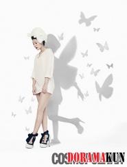BoA для Cosmopolitan Korea August 2012