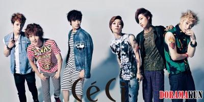 Boyfriend для Ceci Magazine 2012
