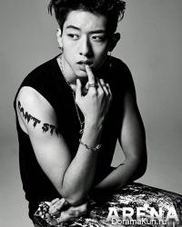 CN Blue (Kang Min Hyuk, Lee Jung Shin) для Arena Homme Plus April 2014
