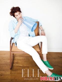 CN Blue's Lee Jong Hyun для Elle Girl Korea July 2012 Extra