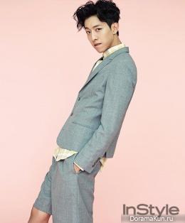 Lee Jung Shin (CN Blue) для InStyle April 2014