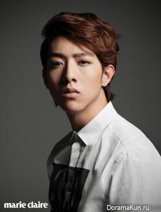 Lee Jung Shin для Marie Claire December 2012