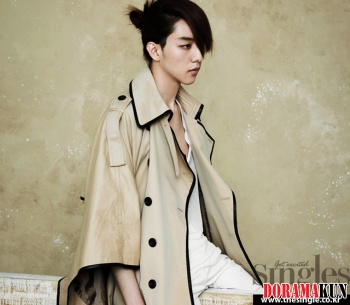 CN Blue's Lee Jung Shin для Singles May 2012 Extra