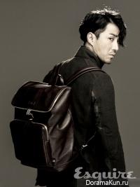 Cha Seung Won для Esquire September 2012