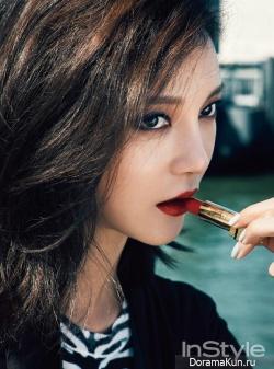 Cha Ye Ryun для InStyle Korea November 2013