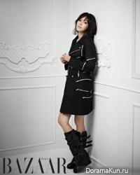 Chae Jung Ahn для Harper's Bazaar November 2013