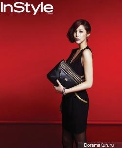 Chae Si Ra и др. для INSTYLE December 2012