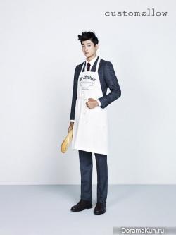 Lee Hyun Woo, Hyung Sik (ZE:A) для CUSTOMELLOW 2013 Ads